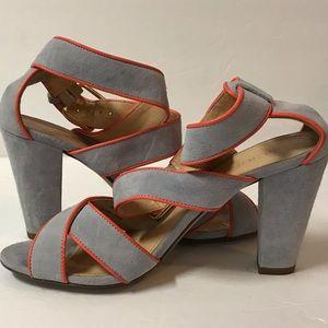 J Crew strap heels
